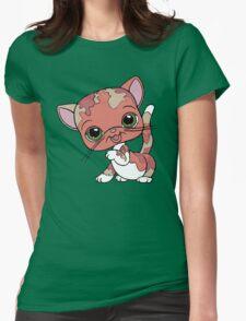 Littlest Pet Shop Cat Womens Fitted T-Shirt
