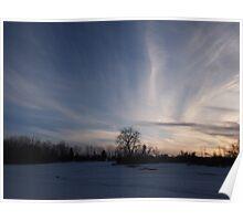 tye dye sky - Photograph Poster