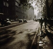 1997 Early Morning Holborn St London. by Fred Mitchell