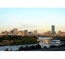 Charles River from StuVi2 Photographic Print