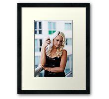 katelyn Framed Print