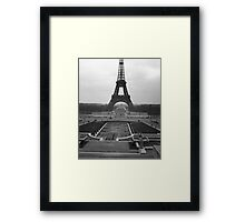 Eifel Tower - in 1945 Framed Print
