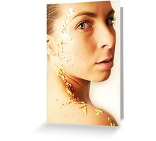 Goldrush Greeting Card