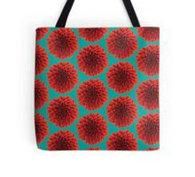 Beautiful Dahlia fresh air background pattern design Tote Bag