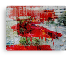Red Paint Canvas Print