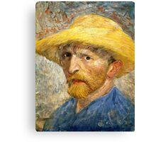 Vincent Van Gogh self portait Canvas Print