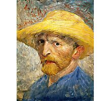 Vincent Van Gogh self portait Photographic Print