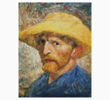 Vincent Van Gogh self portait One Piece - Long Sleeve