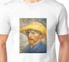 Vincent Van Gogh self portait Unisex T-Shirt