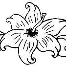 Flower tattoo by MissTemptress