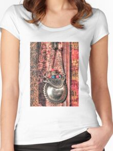 Fairy Dust Container Women's Fitted Scoop T-Shirt