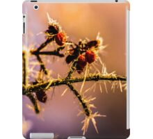 Frost on the vine iPad Case/Skin