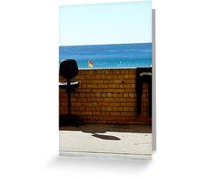 lifeguard. Greeting Card