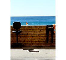 lifeguard. Photographic Print