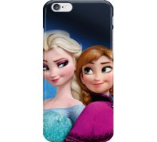 Elsa And Anna My Queen iPhone Case/Skin