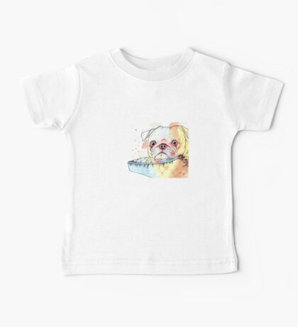 Parker the Pug Baby Tee