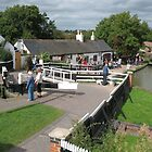 Foxton Locks, Leicestershire (5146) by Tony Payne