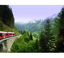 Bernina Express Photographic Print