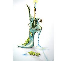 Witch Boot! Photographic Print