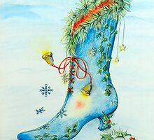 Snow Boot by Sally King