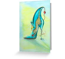 Puss on boot Greeting Card
