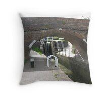 Foxton Locks, Leicestershire (5148) Throw Pillow