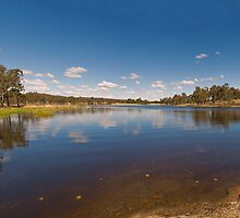 Storm King Dam, pano by Claire  Farley