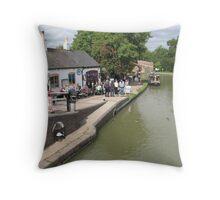 Foxton Locks, Leicestershire (5149) Throw Pillow
