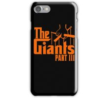 The GIANTS iPhone Case/Skin