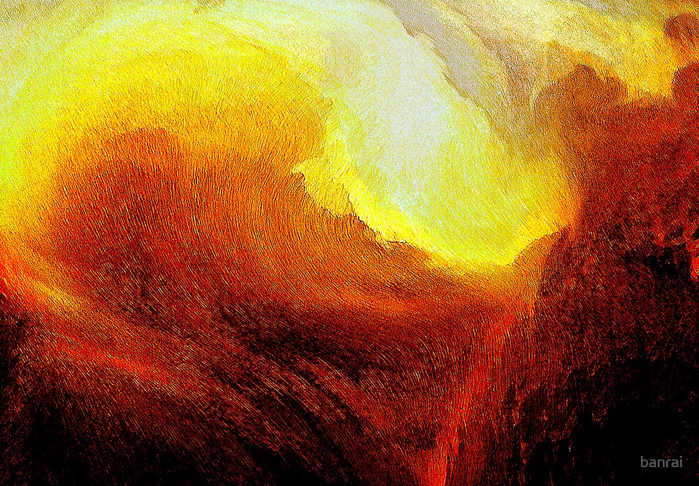 red gorge inferno... by banrai