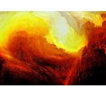 red gorge inferno... Photographic Print