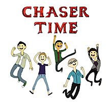 Chaser Time! Photographic Print