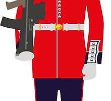 Welsh Guard Soldier by wiscan