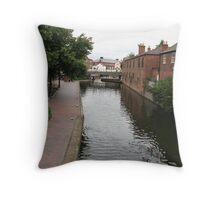 Birmingham Gas Street Basin (5070) Throw Pillow