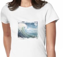 Big Wave - 4406 views Womens Fitted T-Shirt