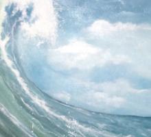 Big Wave - 4406 views Sticker