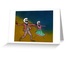Dancing with Tears Greeting Card