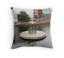 Birmingham Gas Street Basin (5073) Throw Pillow