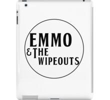 Emmo and the Wipeouts - White version iPad Case/Skin