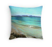 Wategos Beach- Byron Bay Throw Pillow