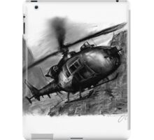 Gazelle Helicopter Ink Drawing iPad Case/Skin