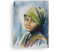 Child's Innocence Canvas Print