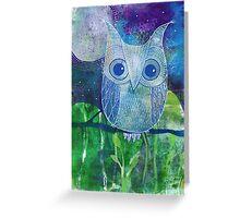 Errol the Owl Greeting Card