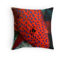 Polka Dots - Cocos (Keeling) Islands Throw Pillow