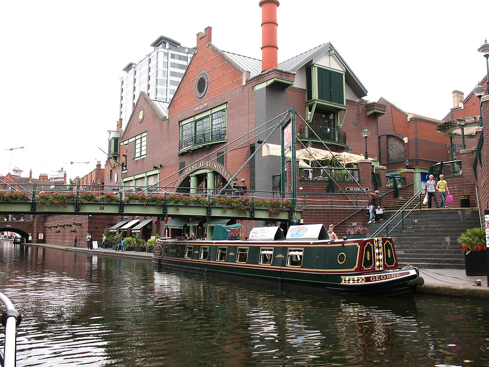 Birmingham Gas Street Basin (5089) by Tony Payne