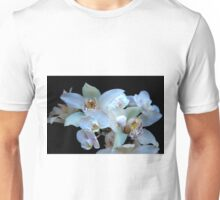 A White Orchid Wedding Unisex T-Shirt