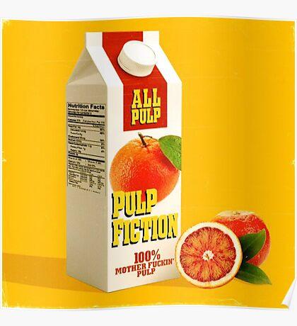 pulp fiction juice box Poster