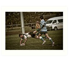 Try Time! Art Print