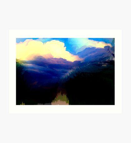 engulfed... Art Print