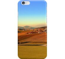 Picturesque panorama of countryside life | landscape photography iPhone Case/Skin